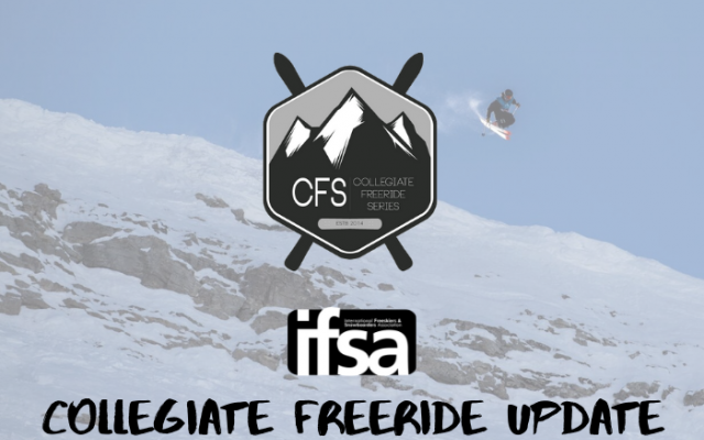 2019 Collegiate Freeride Series Awards