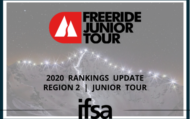 2020 Region 2 Freeride Junior Tour Update & Rankings