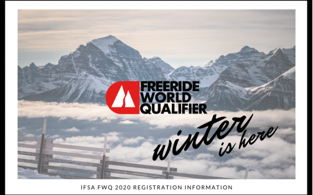 FWQ Adult Athlete Registration Reminders for 2019-2020