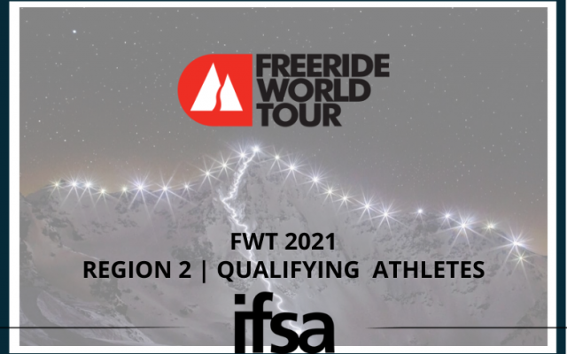 Freeride World Tour 2021 | Region 2 Qualifying Athletes