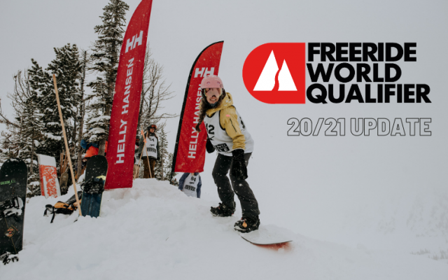 2021 FWT Qualification Update - More Spots For Region 2 Riders!